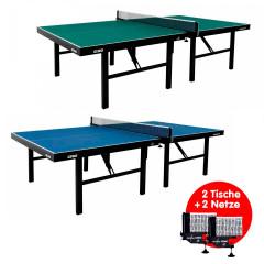 Gewo Tisch Europa 25 - 2er Set inkl. 2 Netze